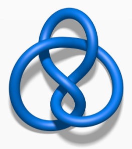 A figure eight knot
