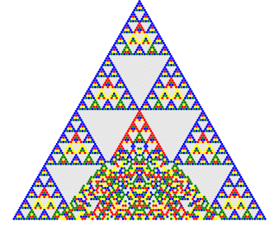 Print pyramid pattern in C and Java